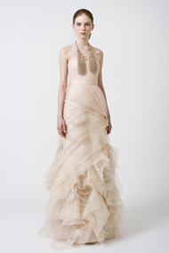 Off White Color Wedding Dresses