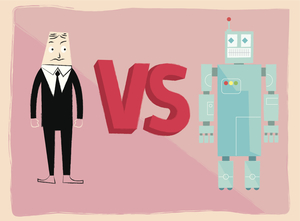 machines vs human workers The idea that manual work can be carried out by machines is already familiar now ever-smarter machines can perform tasks done by information workers, too  increases the demand for human .