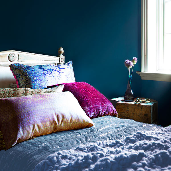 Benjamin Moore shown here in Century Blue Muscari ranked first in J.D. Power paint ratings for interior paint. & ION At Home - ION Television
